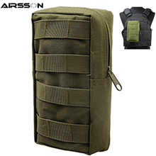 Airsson Airsoft Sports Military 600D MOLLE Pouch Bag Tactical Utility Bags Vest