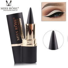 Miss Rose Black Eyeliner Gel Long Lasting EyeLiner Waterproof Eyes Liner Easy to Wear For Eye Pencil Eyebrow Pen Makeup Cosmetic недорого