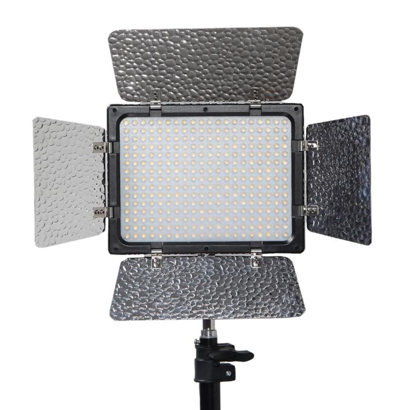 W300 caméra LED lumière vidéo de haute qualité pour Canon N i k o n J v c Samsng Olypus Pentax appareils photo et caméscopes