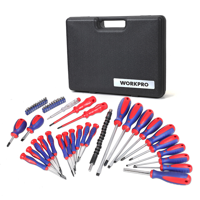 WORKPRO  49PC Screwdriver Set  New Arrival Screwdrivers Precision Screwdriver for Phone Test Pencil 3