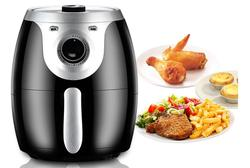 Intelligent Air Fryer 3.8L Electric oven 1300W Automatic household electric fryer multi-function Oven NO smoke Oil 220V