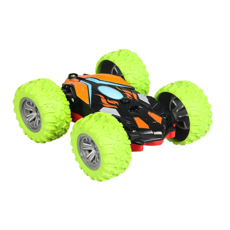 Stunt Car Children'S Toy Double-Sided Dump Truck Off-Road Model Car Remote Control Rechargeable Climbing Car