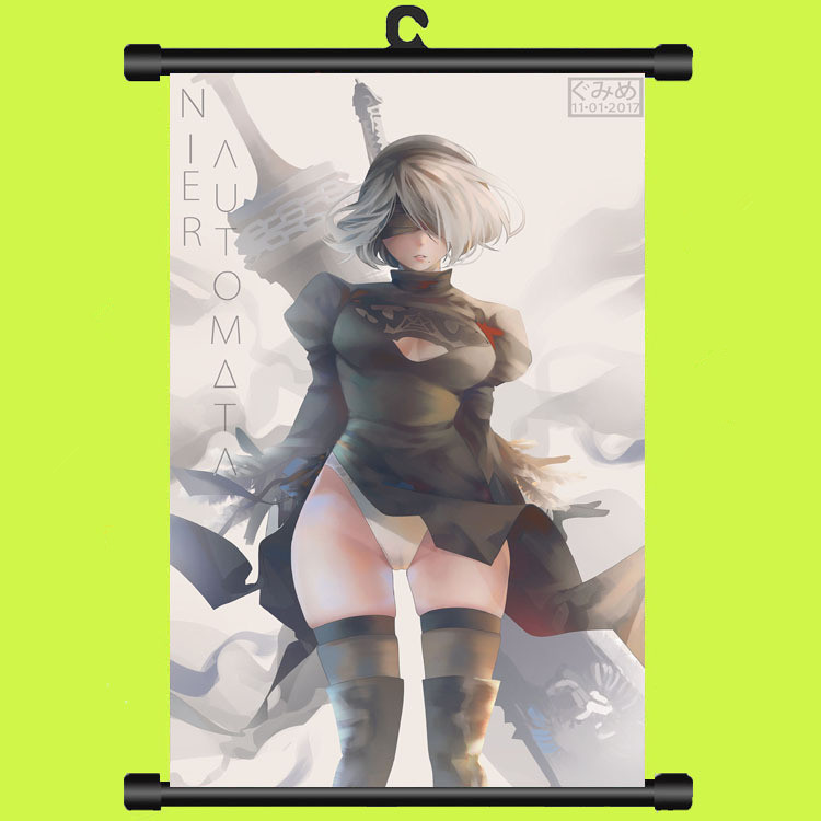 Game NieR:Automata HD Posters Toys Scrolls Paintings Wall Pictures Plastic Hanging NieR Automata  YoRHa 9S 2B Poster 30X45CMGame NieR:Automata HD Posters Toys Scrolls Paintings Wall Pictures Plastic Hanging NieR Automata  YoRHa 9S 2B Poster 30X45CM