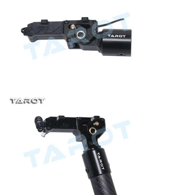 TAROT 25mm CNC ALL Metal Electric Retractable Landing Gear Skids DRIVER TL8X003 F11409 tarot 650 sport carbon quad copter kit with electric retractable landing skids tl65s01