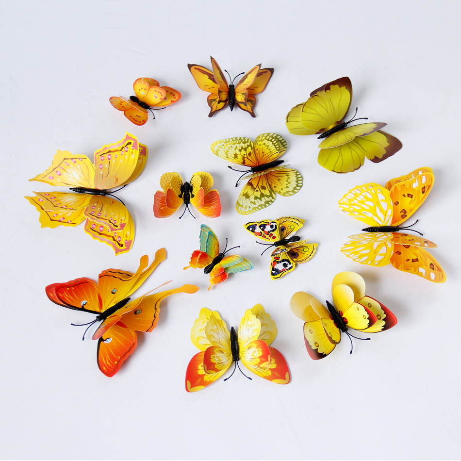 Fantastic 3d Butterflies Wall Art Gallery - The Wall Art ...