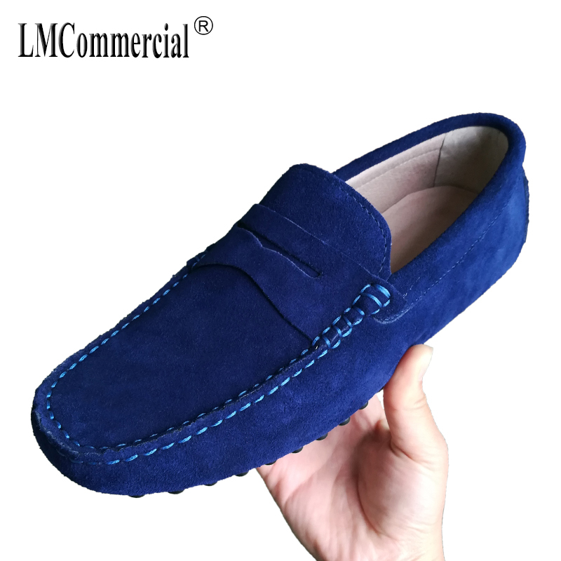 Men's loafer shoes Driving shoes spring autumn summer British retro all-match cowhide soft lazy shoes breathable men casual spring and autumn summer british retro men s lazy doug shoes loafer shoes men driving shoes male leisure driving casual cowhide