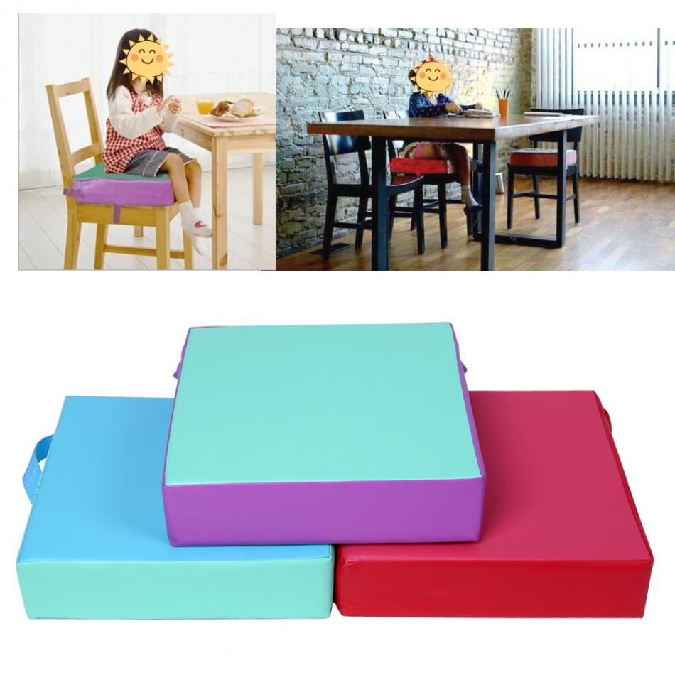 1Pc Booster Seat Cushion Kids Chair Pad Dining Children Highchair