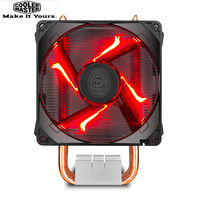Cooler Master RR H410 20PK R1 T410R 4 Heat pipe CPU Cooler 92mm LED 4pin PWM Quiet Fan For intel LGA 115X AMD AM4 CPU Cooling