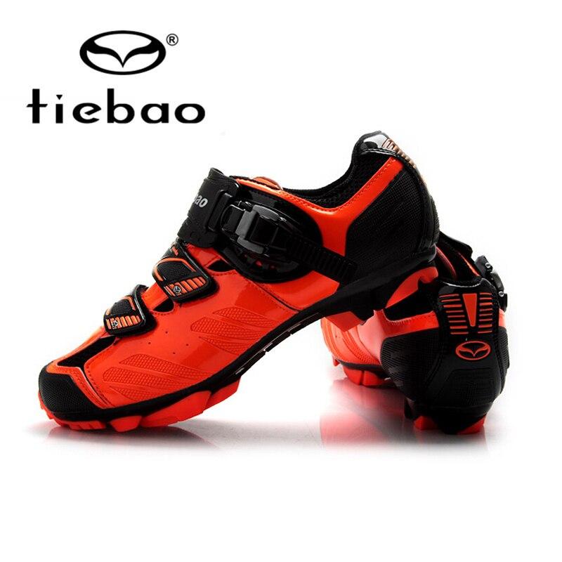 Цена за Tiebao гонки мужчины mtb горный велосипед обувь велоспорт велосипед обувь самоконтрящаяся нейлон стекловолокно езда обувь zapatillas ciclismo
