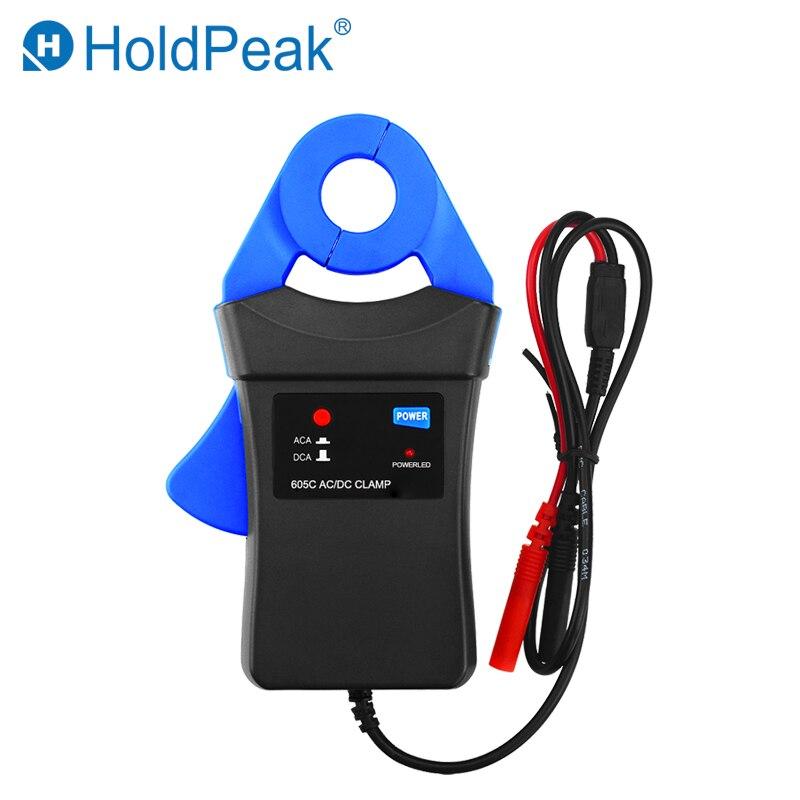 HoldPeak HP-605C Pince Adaptateur 6A/40A AC/DC Pince Multimètre avec Petit Jaw calibre utilisé par Automobile Mutlimeter fluke Multimètre