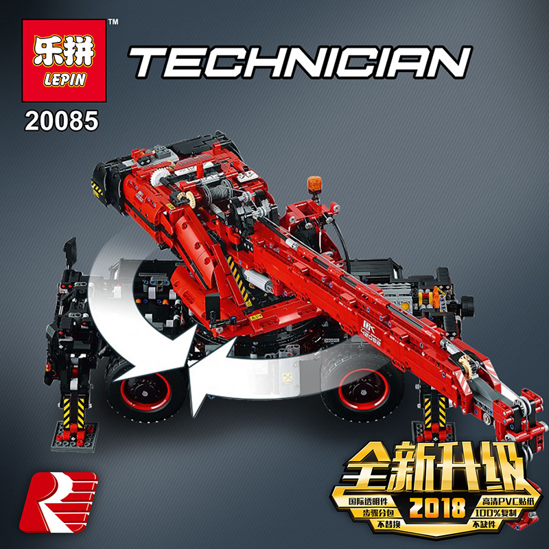 Lepin-20085-Compatible-Legoing-42082-Technic-Series-Rough-Terrain-Crane-Building-Blocks-Bricks-Educational-With-Battery (2)