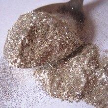 Очень блестящие серебряные хлопья блеск ногтей блестка DIY ручной блеск 5230
