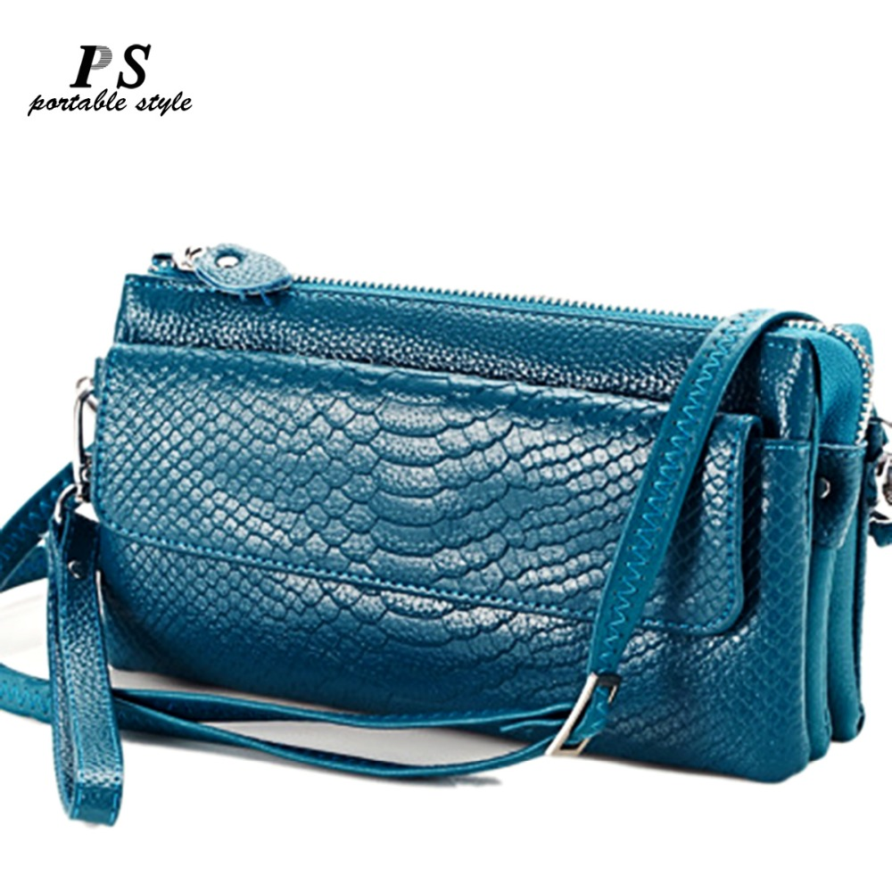 Brand Designer Real Genuine Leather Lady Messenger Bag With One Shoulder Strap And One Handle Flap Handbags Lady Small Messenger