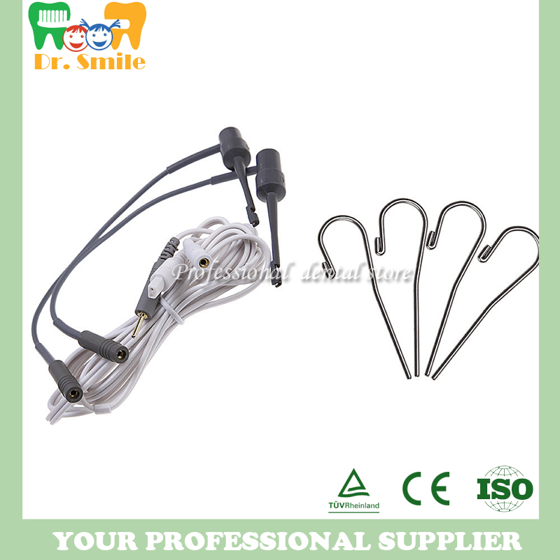 Endo Apex Locator Root Canal Testing Cord Files measuring wire probe cord file holders hooks lip clips key to endodontic success chemical means of root canal sterilization