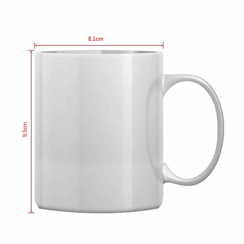 LIQU spersonalizowane kubek do kawy dodać swoje zdjęcie logo lub tekst 11oz DIY kubek na prezent
