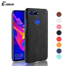 Crocodile Snake Skin Leather Cover Case For Huawei Honor View 20 10 V20 V10 V9 Play 9 Premium Youth 8 Lite 7X 6X 6A 6 6C 5C Pro(China)