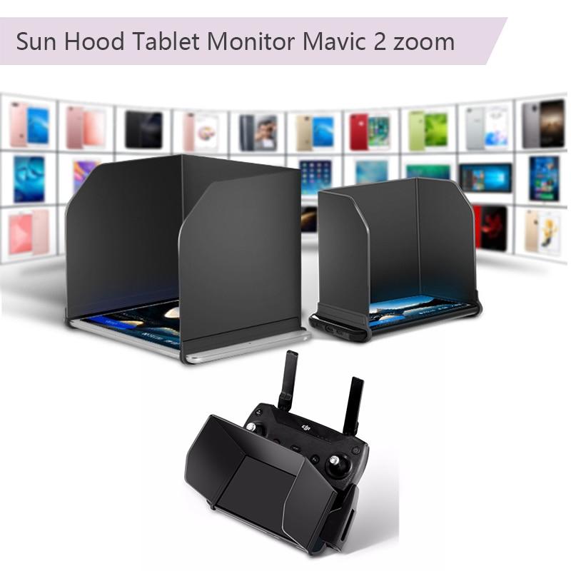 4,7, 5,5, 7,9, 9,7 Sun Hood Tablet sombra controlador para DJI Mavic pro Platinum aire Mavic 2 zoom chispa phantom 4 3 Inspire 1