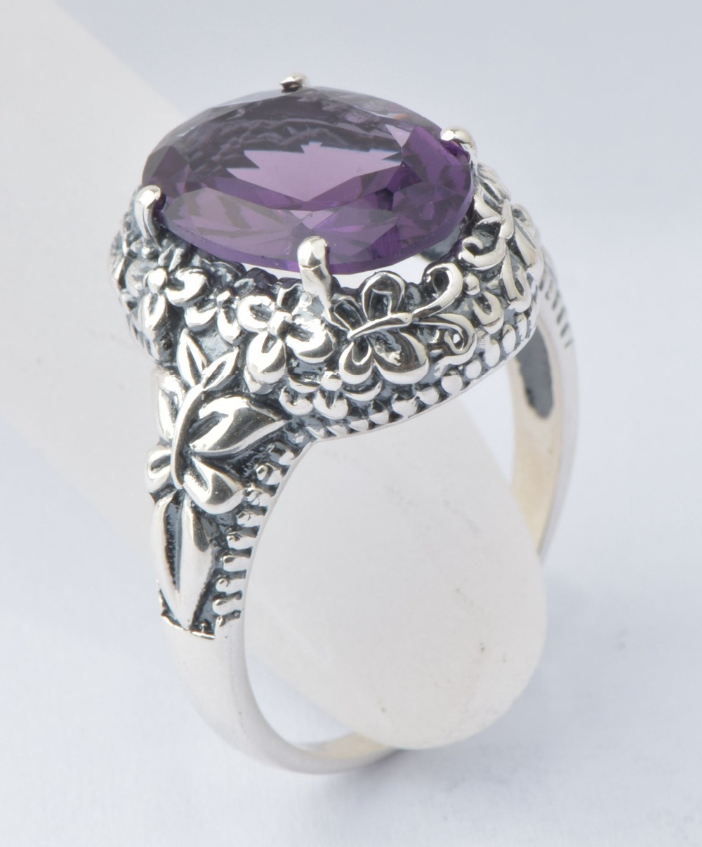 western ancient silver fashion jewelry 925 sterling