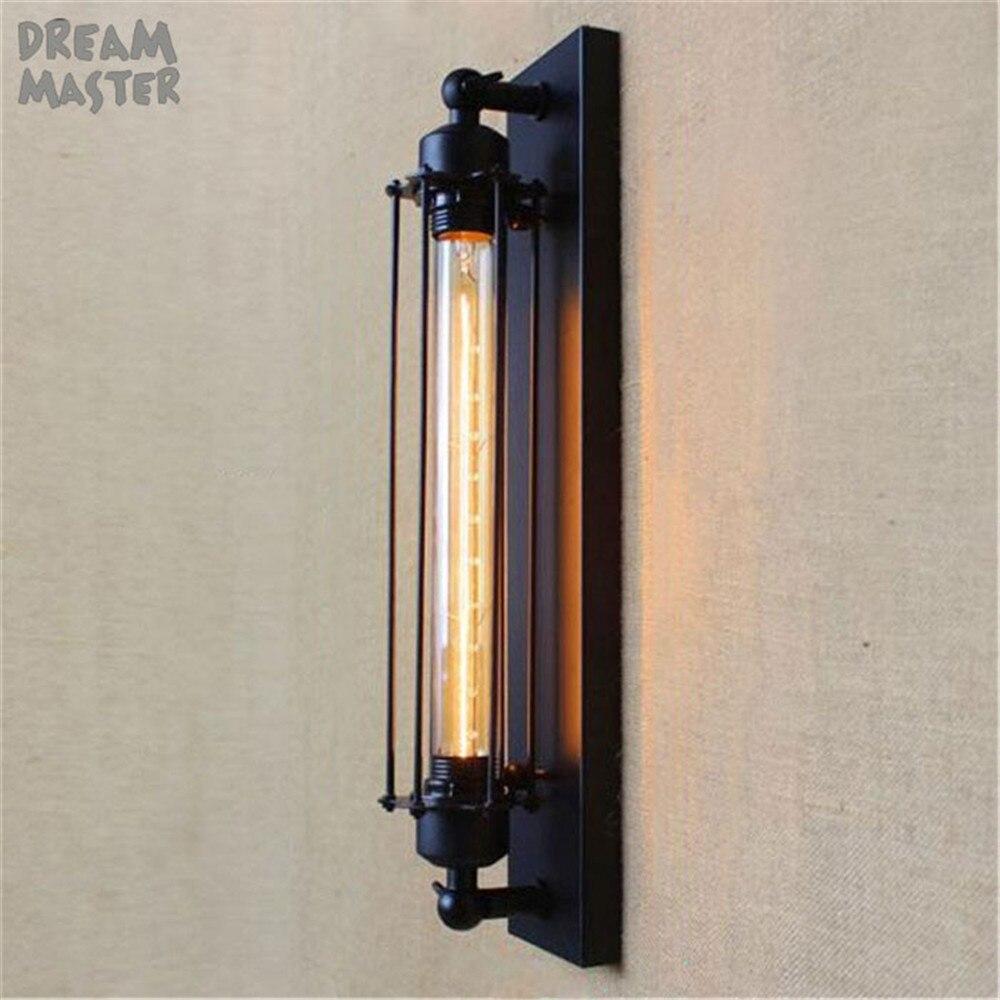 American Vintage настенные лампы внутреннего освещения прикроватные лампы Настенные светильники для home110V/220 В E27 T30 EDISON ЛАМПЫ wandlamp