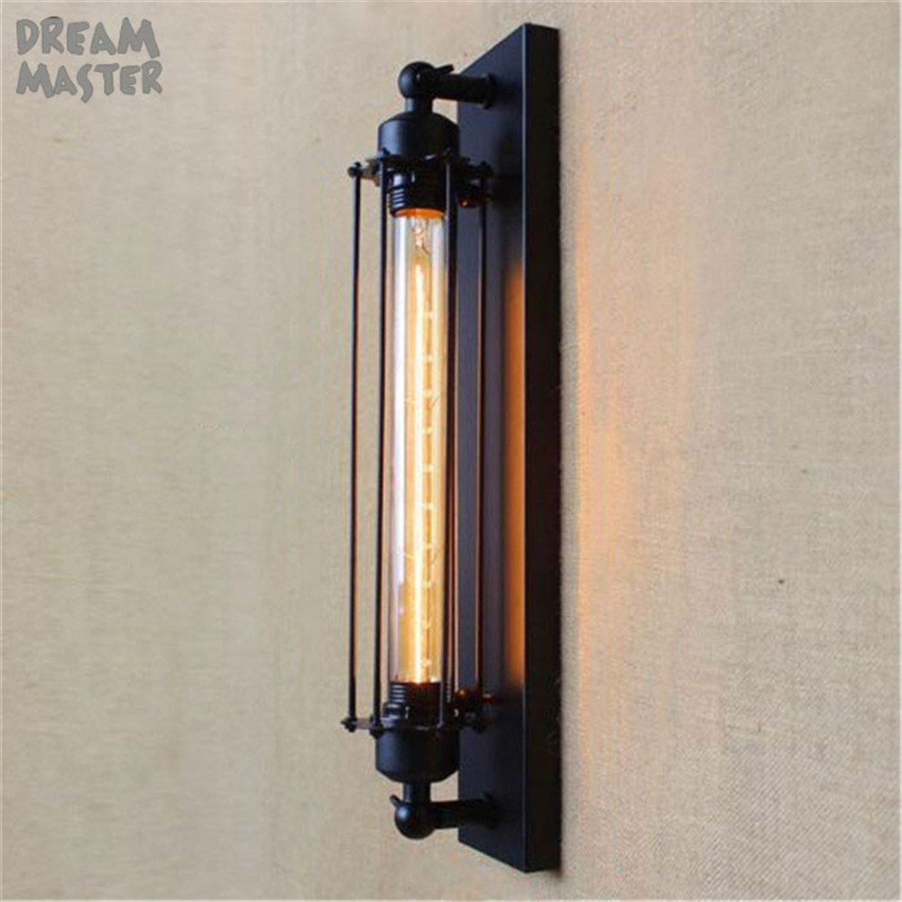 American vintage wall lamp indoor lighting bedside lamps wall lights for home110V/220V E27 T30 Edison bulb lights wandlamp m american vintage wall lamp indoor lighting bedside lamps wall lights for home stair lamp