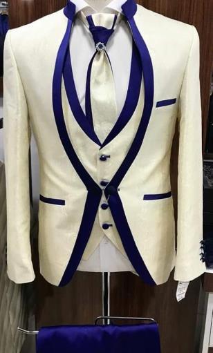 53bdc41afdf Slim suit men s suit men s work West Slim custom tailored wedding formal  suit (coat + pants + vest + tie)