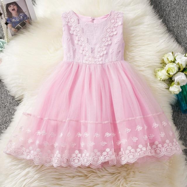 b68889d3d Kids Girls Clothes Sundress Lace Girl Clothing Princess Dress Prom 4 ...