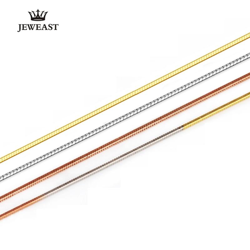 Italiaanse Technology18K Gold Womens Snake Kettingen Slanke Dunne Slang Kettingen VOOR Hangers Sleutelbeen Keten Slang Botten Medaillon Link-in Kettingen van Sieraden & accessoires op  Groep 1