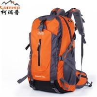 Brand Creeper Camping Bag Professional Waterproof Rucksack Internal Frame Climbing Camping Hiking Backpack Outdoor Bags