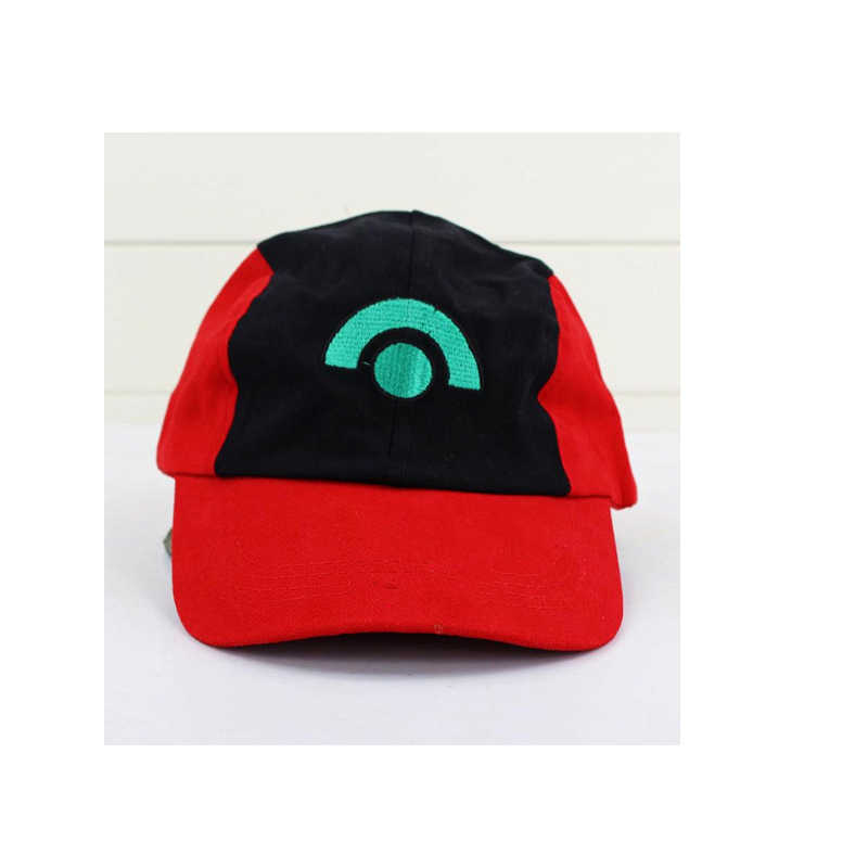 c71882ae ... Pokemon Ash Hat Ketchum Game Cosplay Costume Pokemon Hat Visor Cap Set  for Adult 3 Styles ...