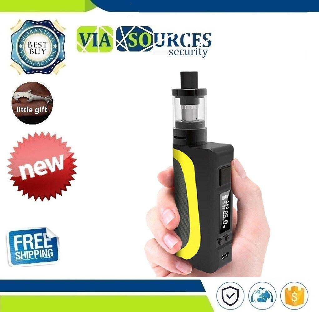 85 W Cigarette électronique sûre Vape Mod Box lcd Shisha stylo E Cig fumée grand vaporisateur de fumée narguilé Vaper Cigarettes mécaniques