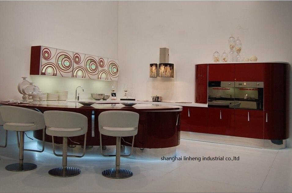 High gloss/лак кухонный шкаф mordern (lh la045)