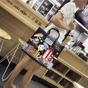 Image 5 - iPinee New 2020 Fashion Women Handbags Large Capacity Tote Bag Lady Embroidery Pu Leather Messenger bag Bolsos