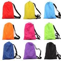 240 70cm Fast Inflatable Lazy Bag Sleeping Air Bag Camping Portable Air Banana Sofa Beach Bed