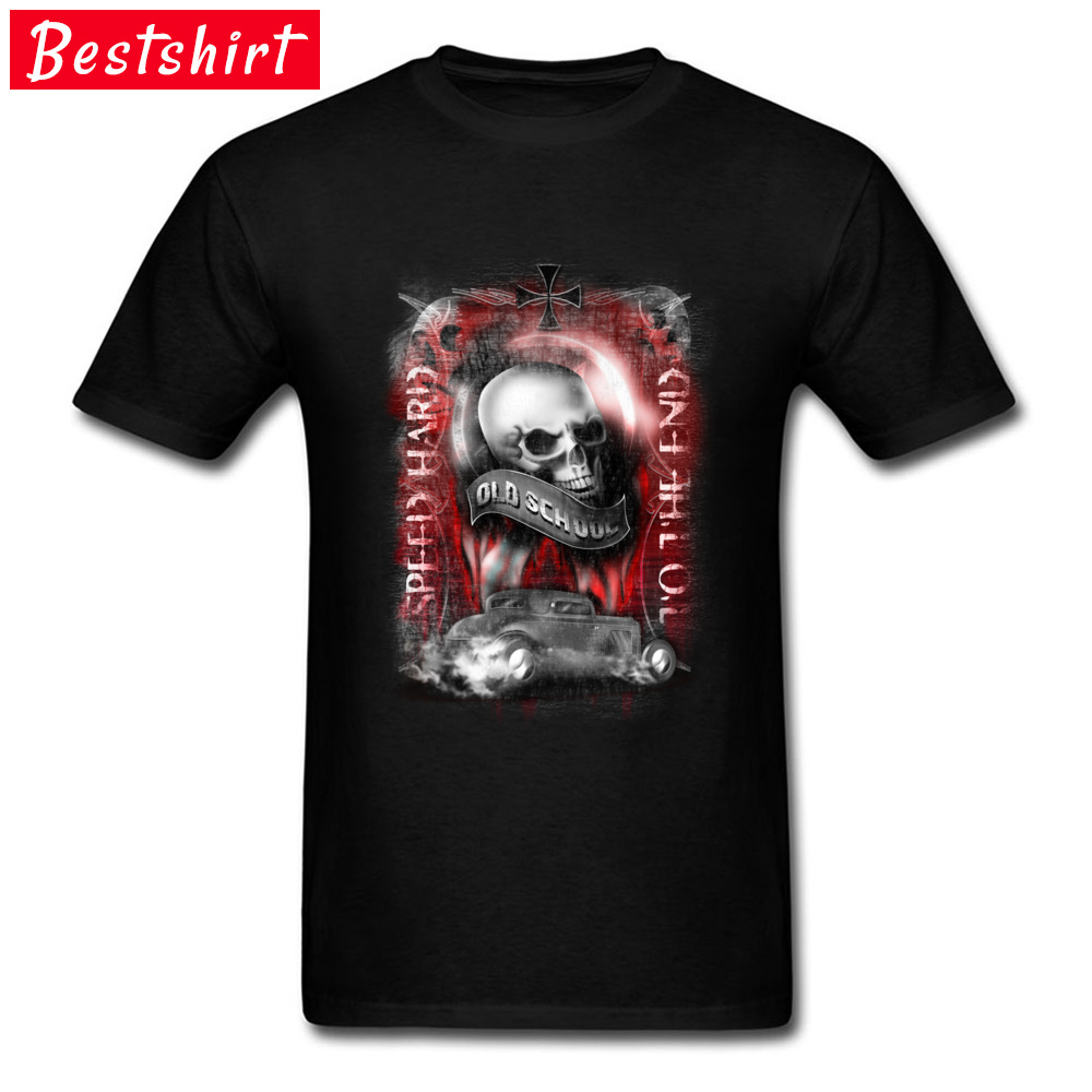 Geek Metal Skull T-Shirt Car Styling Speed Hard Men Tshirt Summer Pure Justin Bieber Simple Style Tshirts Atheist Free Shipping