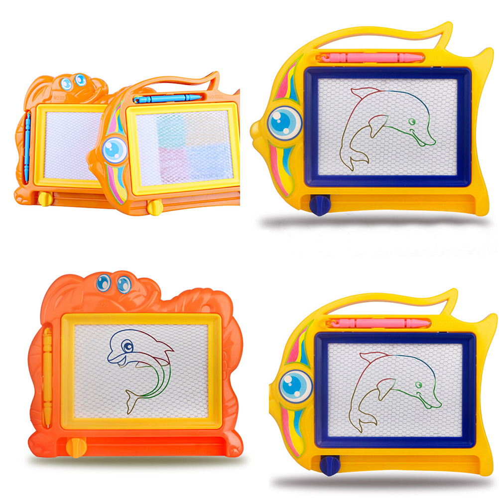 children writing doodle stencil painting magnetic Drawing board set Learning & Education Toys Hobbies for kids 1PCS
