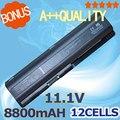 8800 mah bateria para hp pavilion dv4 dv5 dv6 dv6t g50 g61 para Compaq Presario CQ40 CQ41 CQ45 CQ50 CQ60 CQ61 CQ70 CQ71 HSTNN-IB72