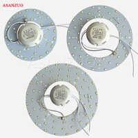 AC180-260V LED Downlights LED Lighting Plate for Ceiling Lamp High Brightness 5730 110V 220V 18W 24W 36W Convenient Installation