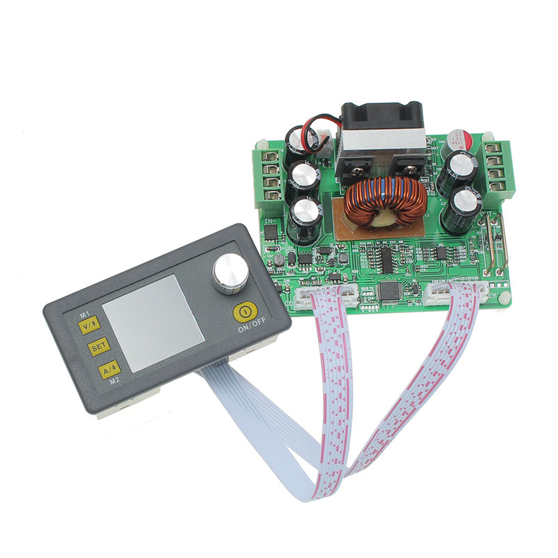 ФОТО Hot Sale DPS3012 32V 12A Buck Adjustable DC Constant Voltage Power Supply Module Integrated Voltmeter Ammeter