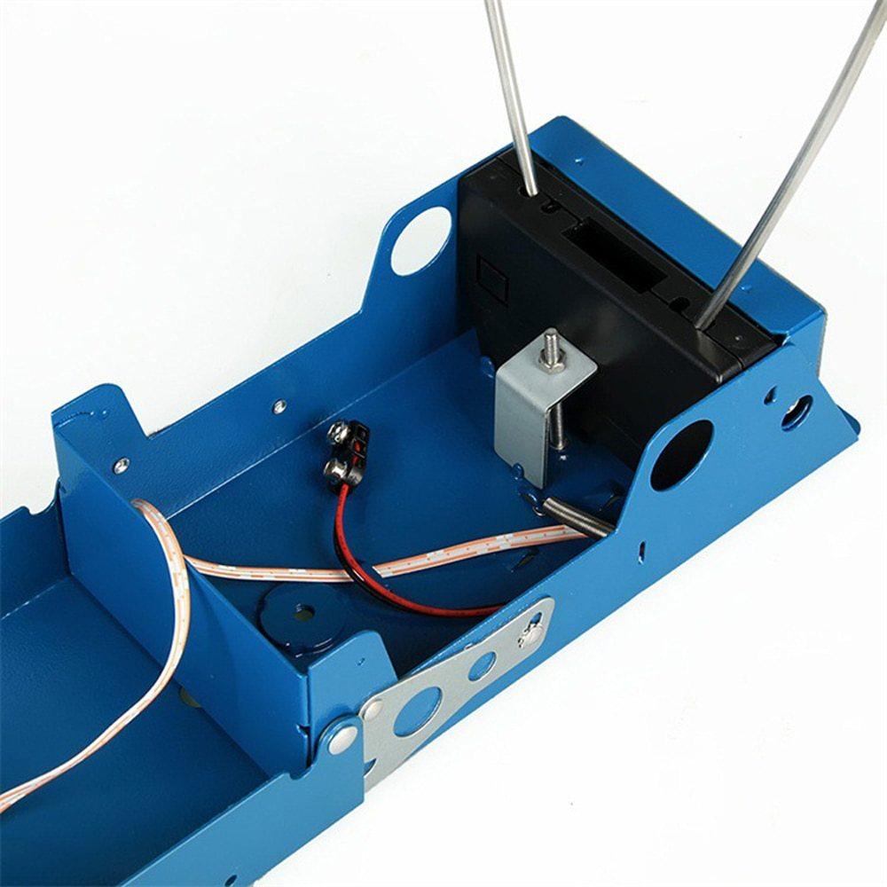 Affichage LCD mesure balle vitesse chasse au tir chronographe pliable testeur de vitesse velomètre compteur de vitesse avec deux capteurs - 3