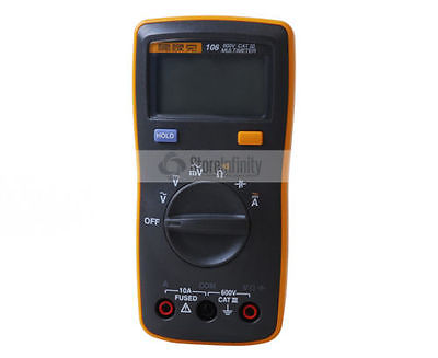 Free Shipping New Fluke 106 Handheld Digital Easily Carried mini Multimeter