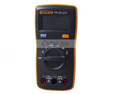 Free Shipping New Fluke 106 Handheld Digital Easily Carried mini Multimeter new vc921 3999 dmm victor mini integrated handheld pocket digital frequency multimeter free shipping