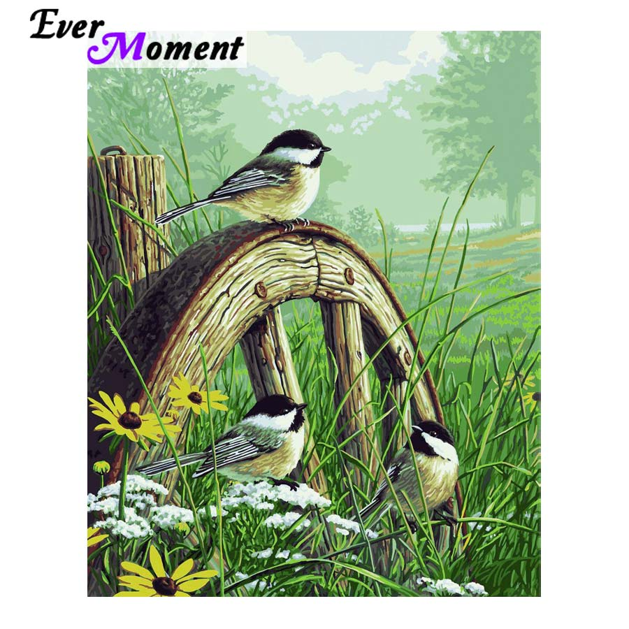Ever Moment Diamond Embroidery Bird Lovers Flowers DIY Diamond Painting Cross Stitch Craft Full Layout Square Rhinestones ASF933Ever Moment Diamond Embroidery Bird Lovers Flowers DIY Diamond Painting Cross Stitch Craft Full Layout Square Rhinestones ASF933
