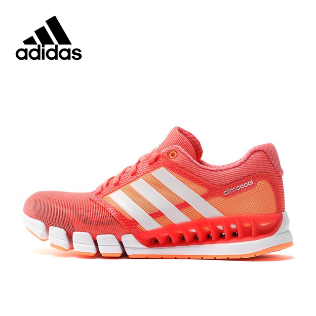 194d09659c22d Adidas Official Climacool Women's Running Shoes Sneakers S77251-in ...