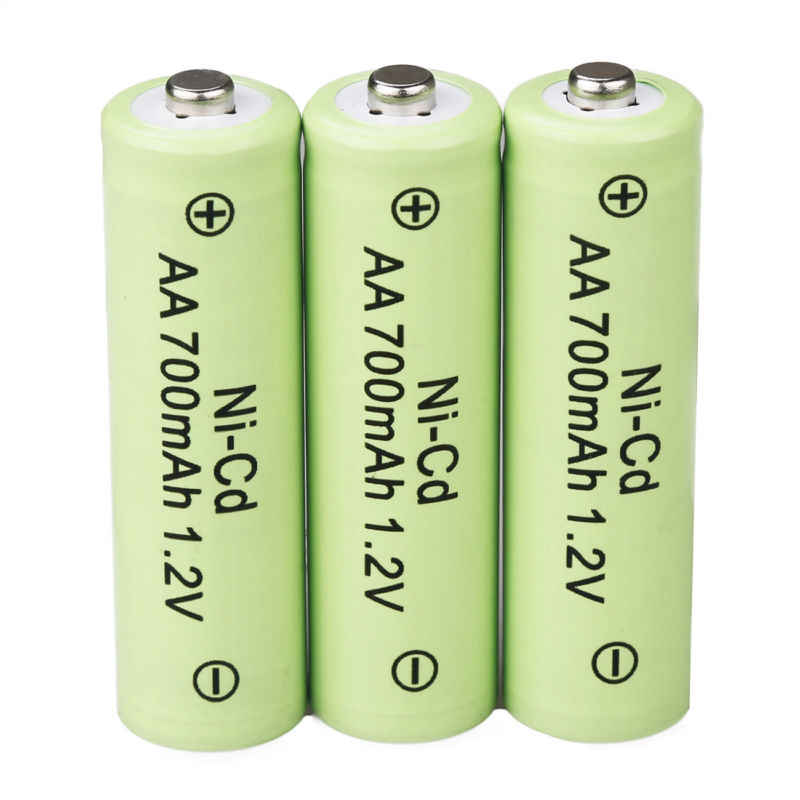 AA Rechargeable Batteries NiCd 700mAh 1.2v Garden Solar Ni-Cd Light LED EAS
