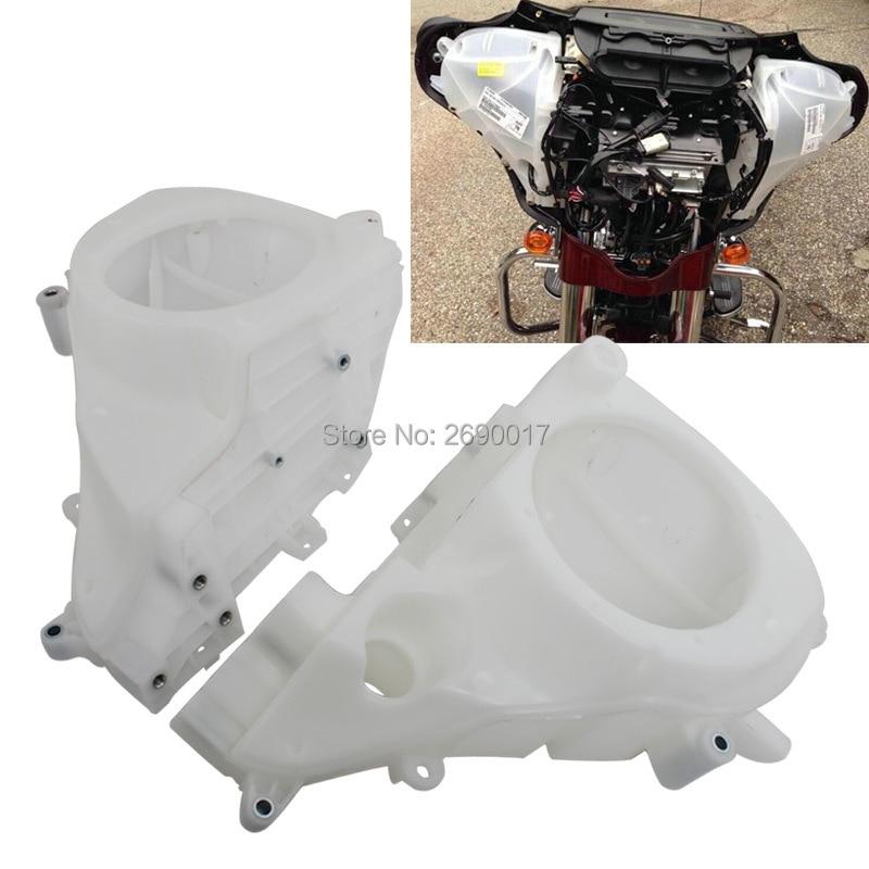 Motorcycle Inner Fairing Speaker Cover Fits For Harley Touring Electra Street Glide FLHT FLHX FLHR 2014