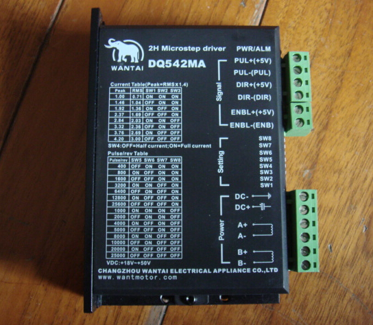 Superior Quality  1pc Stepper Digital Driver Dq542ma 50v 4
