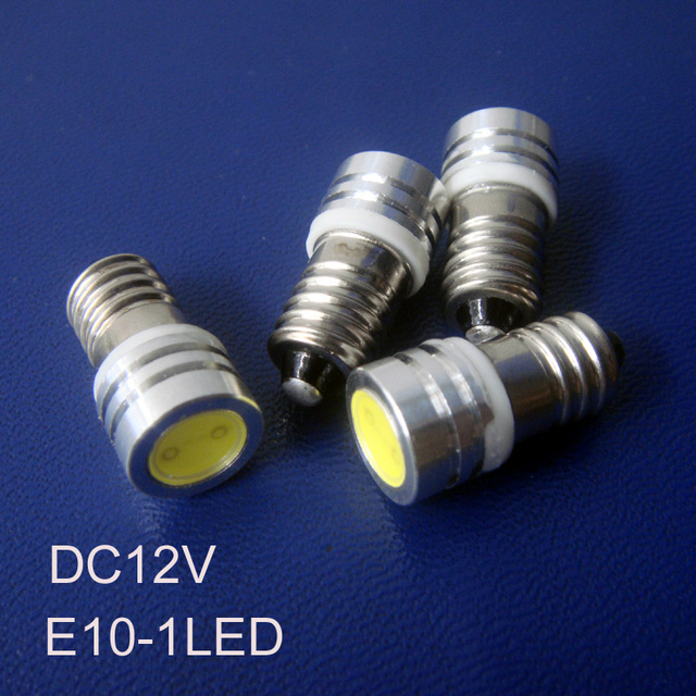 Bulb Lamp indicator Light Instrument Warning Power Led In Free 25Off Us41 e10 Light E10 12v 25 Shipping Light 1w high 50pcslot NnXPkOw80Z