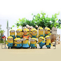 12 Unids/set minion Personaje de la Película Figuras de Acción Juguetes de la Muñeca adornos Micro paisaje Para Niño o adulto