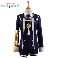 Touken Ranbu Gokotai Uniform Coat Jacket Shorts Hat Anime Halloween Cosplay Costumes For Women Custom Made