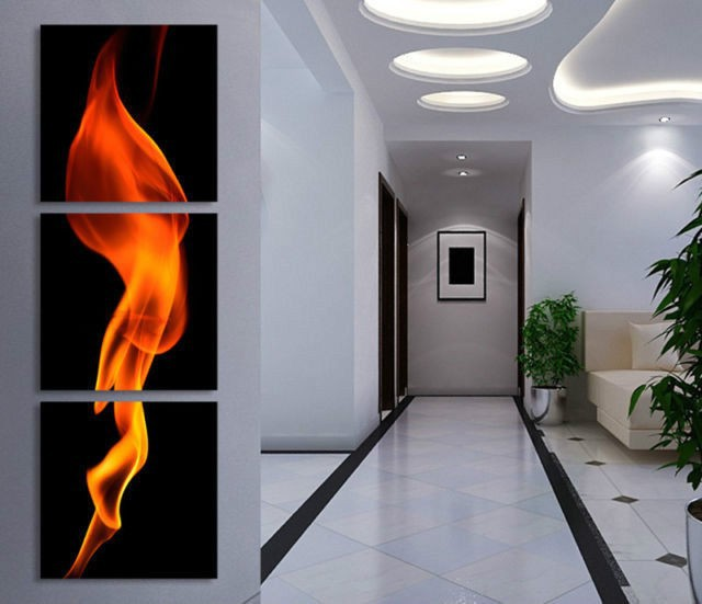 Aliexpress Com Buy 3 Piece Canvas Art Home Decoration: Aliexpress.com : Buy 100% Hand Painted Oil Wall Art